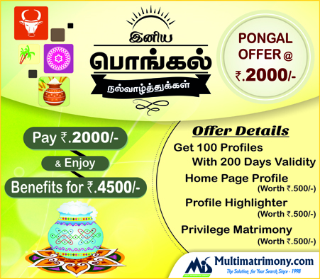 Pongal Festival Offer