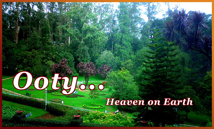 ooty - Honey Moon Loction