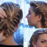 gorgeous_prom_updo_with_fishtail_braidseasy_updos_for_straight_hair