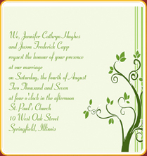 Sms Wedding Invitation